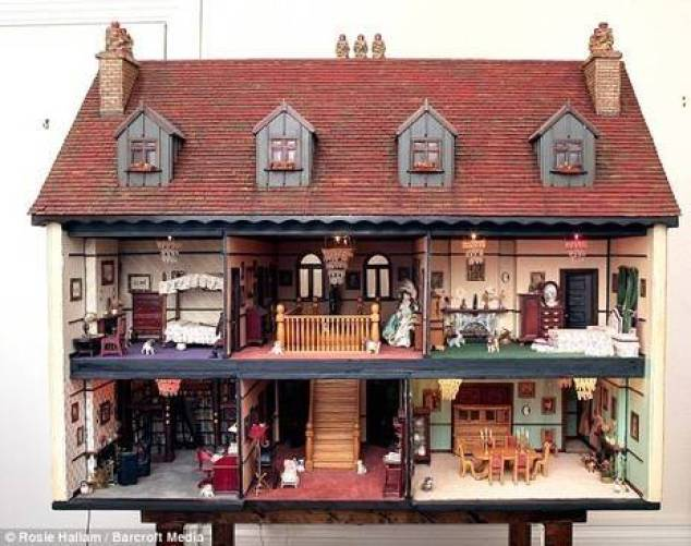 Intricate doll's house is set to fetch £50,000