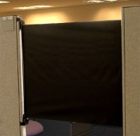 Cubicle Door Increases Productivity, Isolation From ...