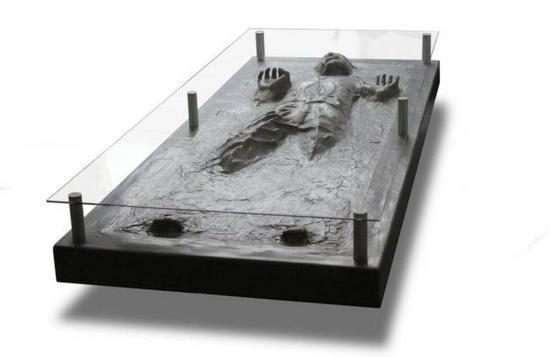 han solo in carbonite coffe table 2