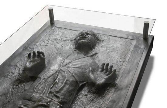 han solo in carbonite coffe table 1