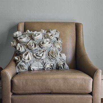 Deconstructed Rose Pillow Cover