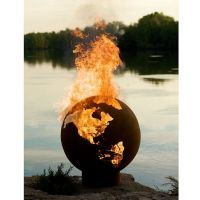 Burning Earth Fire Pit | Curbly