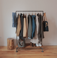 How to Make a DIY Industrial Coat Rack | Curbly