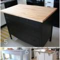 Roundup 12 diy kitchen tables islands and cupboards you can make