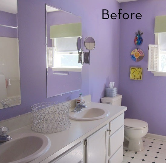 Magnificent Budget Bathroom Makeover  Fadto Edus blog