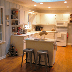 Small Island For Kitchen Complete Cabinets Before After A Diy Makeover Curbly