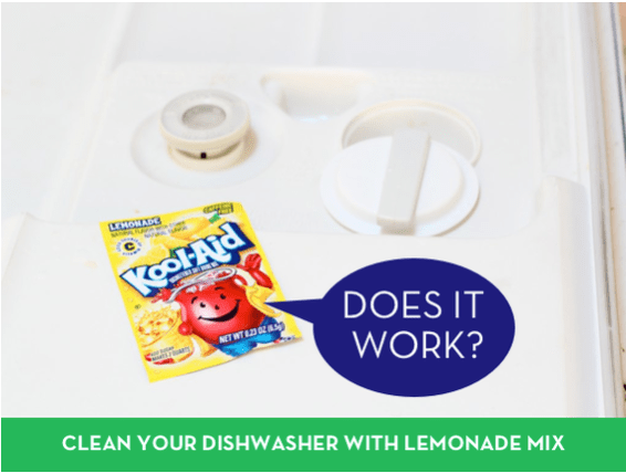 How to clean your dishwasher with kool aid - does it really work?