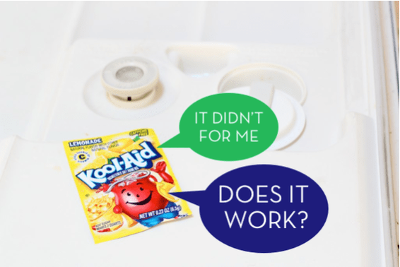 using kool aid to clean dishwasher - does it work?