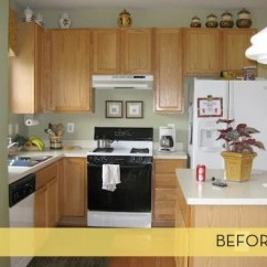 Kitchen Cabinets Ikea Tables And Chairs Makeover: First Class Upgrade » Curbly | Diy ...