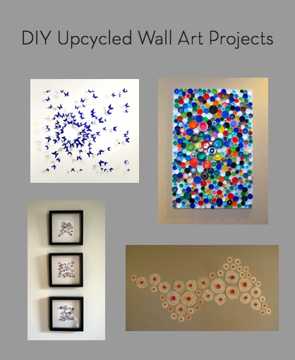 Roundup 10 Diy Upcycled Wall Art Projects Curbly Diy
