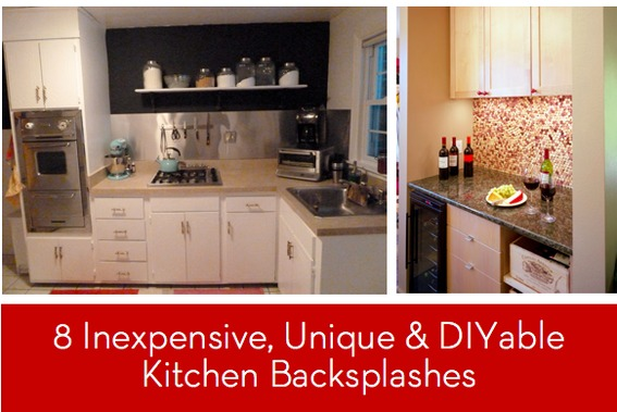 Eye Candy 8 Inexpensive Unique And DIYable Backsplash Ideas Curbly