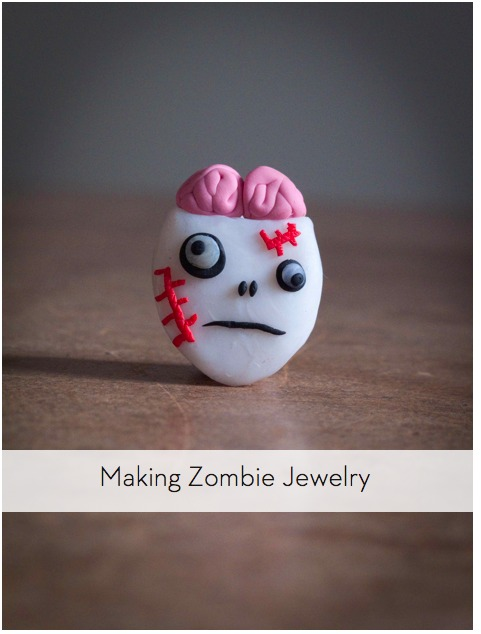 How To Make Zombie Jewelry With Sculpting Clay  Curbly