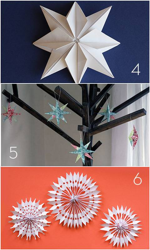 Paper Holiday Decor