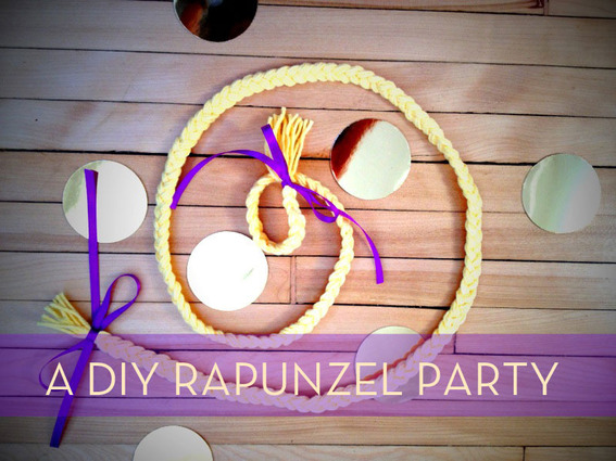 A DIY Rapunzel Birthday Party