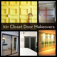 Roundup: 10+ Easy and DIYable Closet Door Makeovers | Curbly