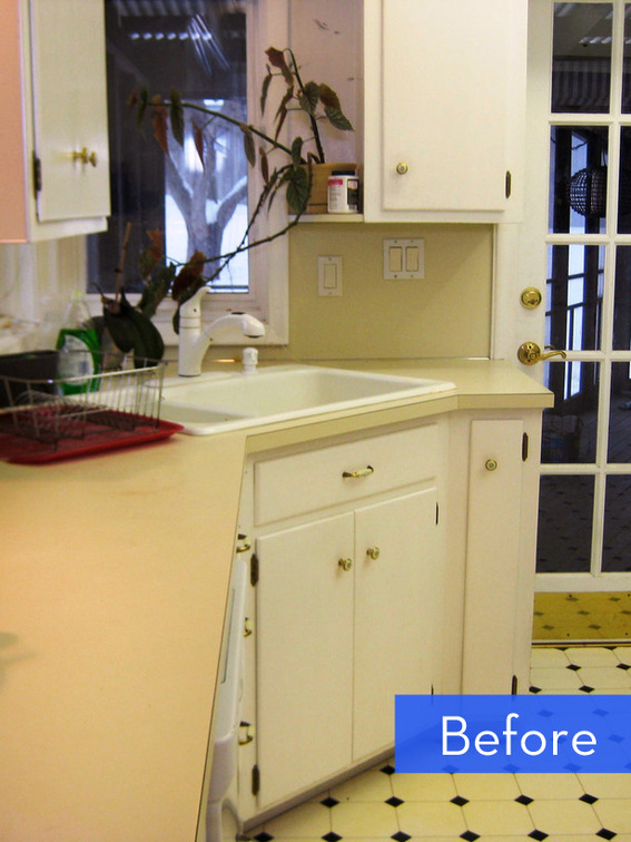 Before and After A BudgetFriendly Kitchen Makeover