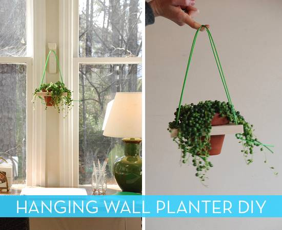 How To Make A Cool Hanging Wall Planter Curbly Diy