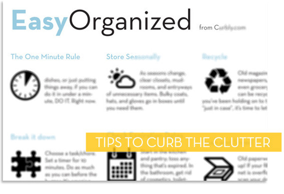 Free PDF download: Cheat sheet with tips to curb the clutter.