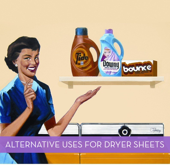 Uses for dryer sheets - alternative uses