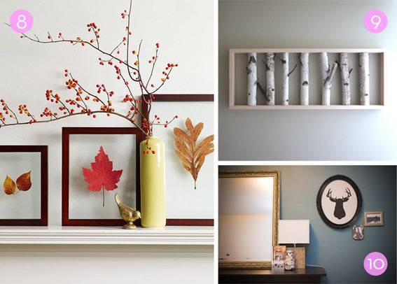 Roundup Nature Inspired Diy Wall Art Projects Curbly