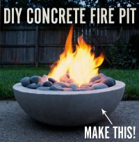 Cool DIY Outdoor Fire Pits And Bowls - Home Design Elements