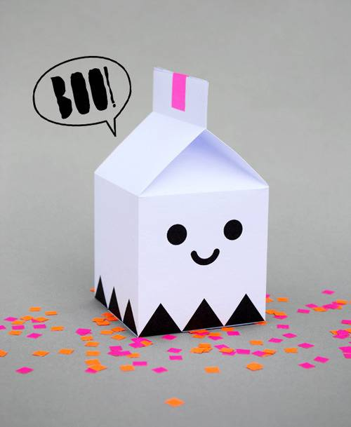 Ghost Treat Boxes