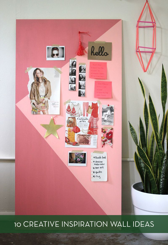 Roundup 10 Inventive Inspiration Wall Ideas Curbly