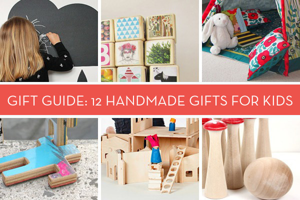 Holiday Gift Guide 12 Sweet Handmade Gifts for Kids  Curbly