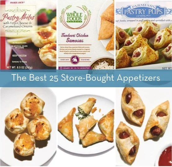 Best store bought appetizers