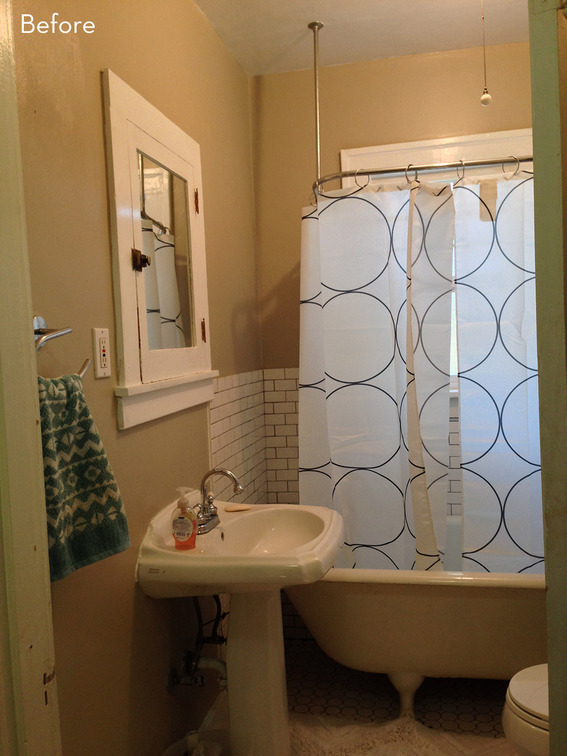 29th Avenue A Dark and Dramatic Bathroom Makeover  The