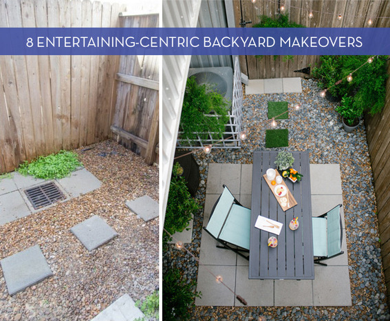 8 Amazing Backyard Makeovers Perfect For Entertaining