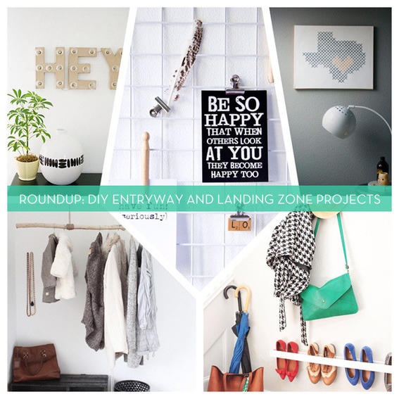 Roundup: DIY Entryway and Landing Zone Projects