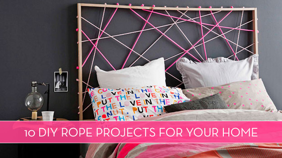 10 DIY Rope Projects For Your Home