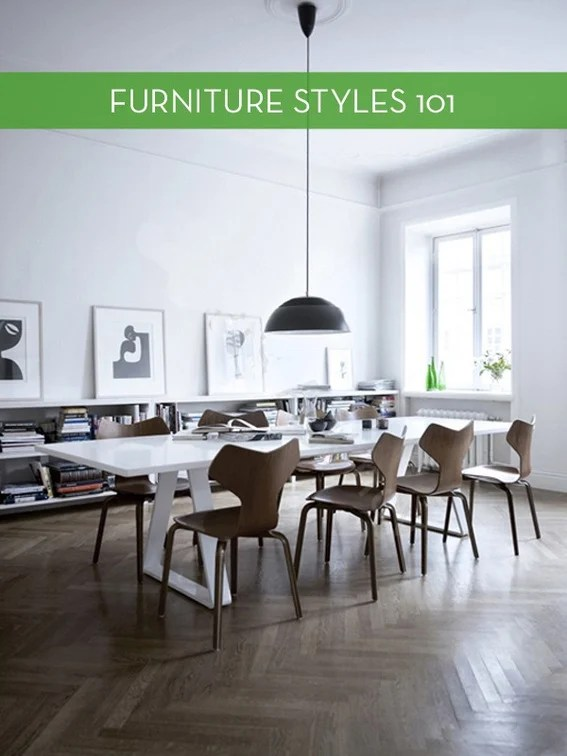 Furniture Styles 101