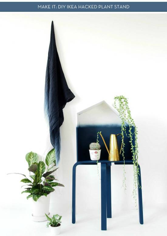 Make It:  Diy Ikea Hacked Plant Stand