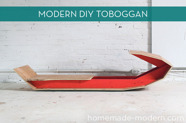 How To Make Your Own Modern Sled for Under 60  Curbly