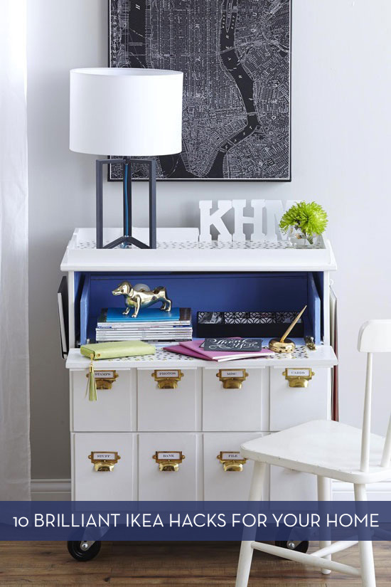 10 Clever IKEA Hacks That You Might Actually Use