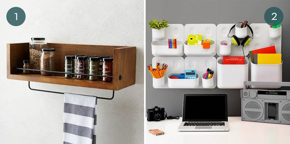 Wall-Mounted Storage Products