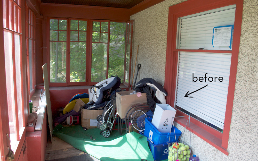 Our National Painting Week porch makeover