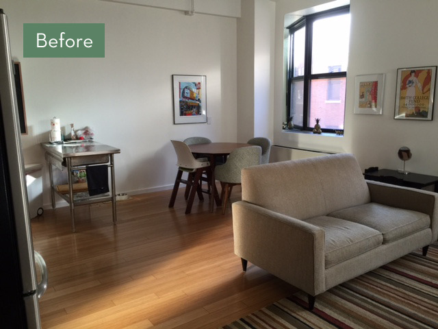 Before and After: A Quick Dining Room Revamp Makes A Huge Difference