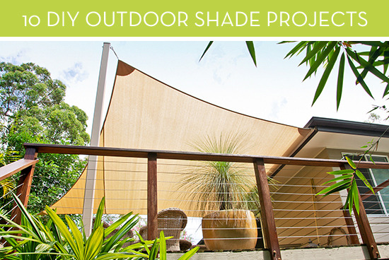 Roundup: 10 DIY Backyard Shade Projects and Ideas