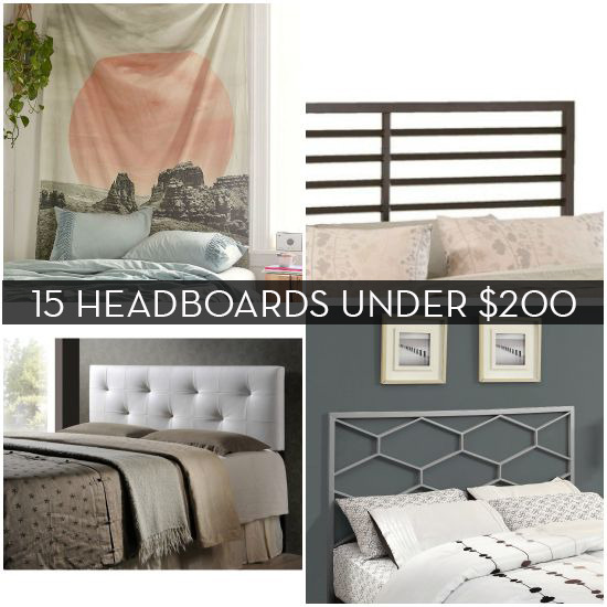 15 Chic Headboards For $200 Or Less