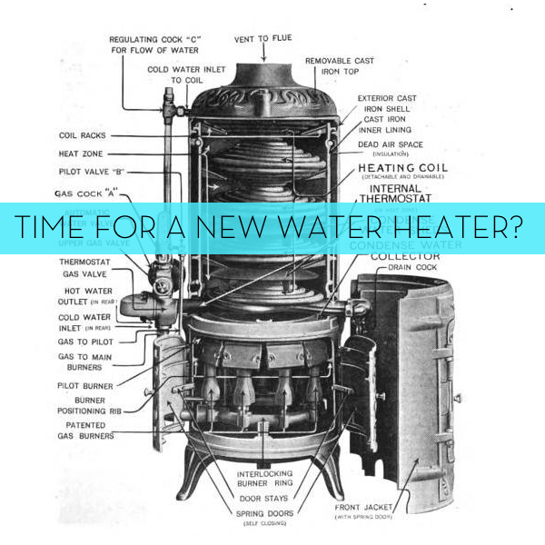 Is it time to get a new water heater? Find out what to look for.