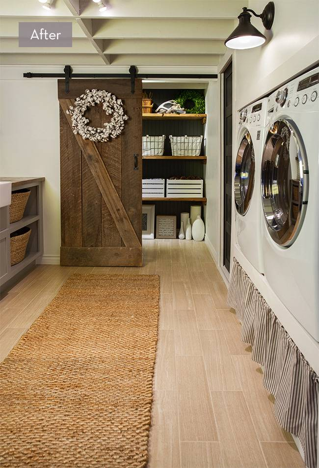 Before and After: An Unbelievable Laundry Room Makeover