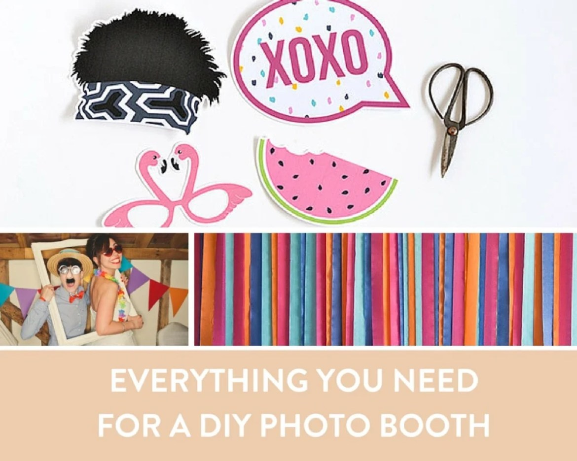 Everything You Need to Set Up A DIY Photo Booth For Your Next Party