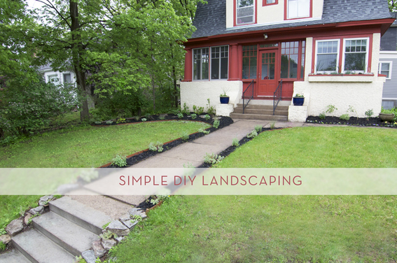 adding curb appeal with simple