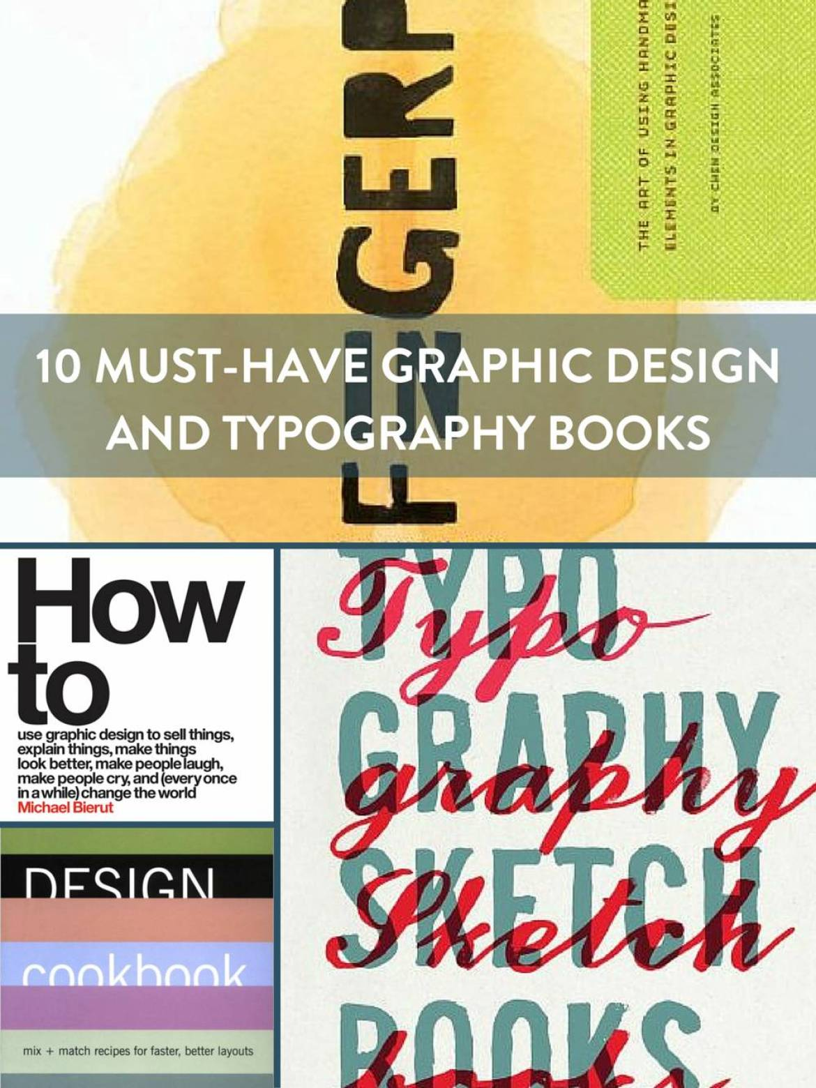 Graphic Design and Typography Books