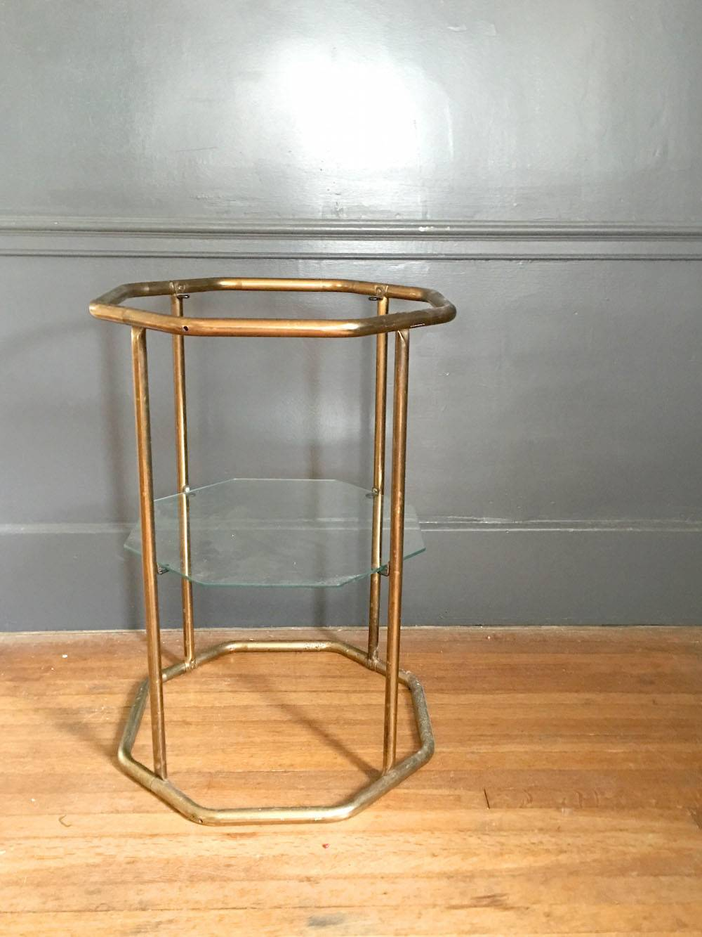 DIY Updated Thrift Store Side Table