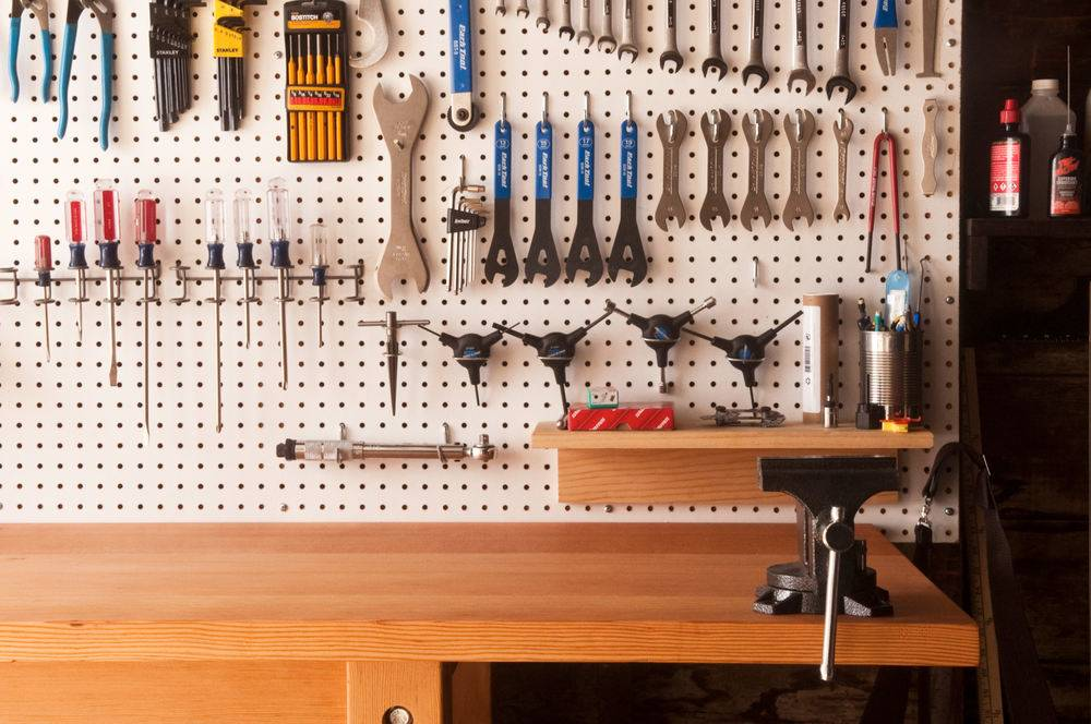 the ultimate garage workbench
