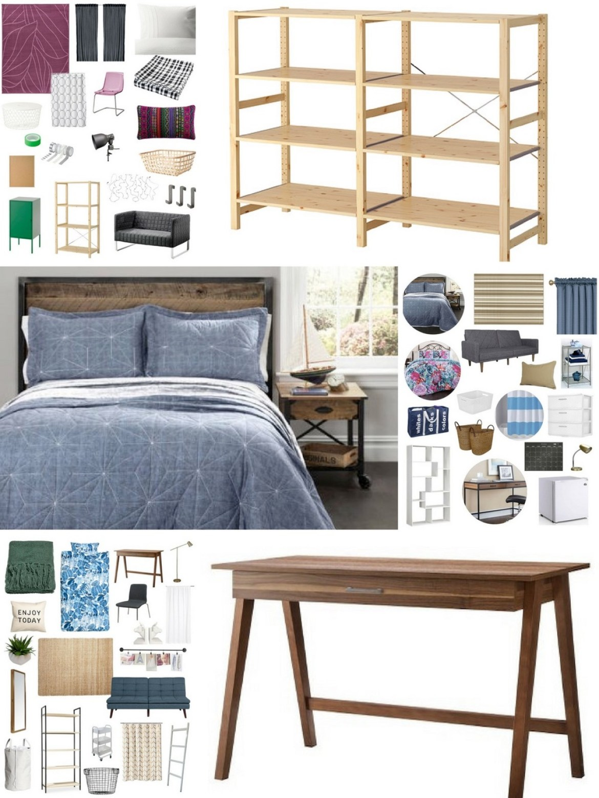Shopping Guide: Three Dorm room Designs to Steal This Semester